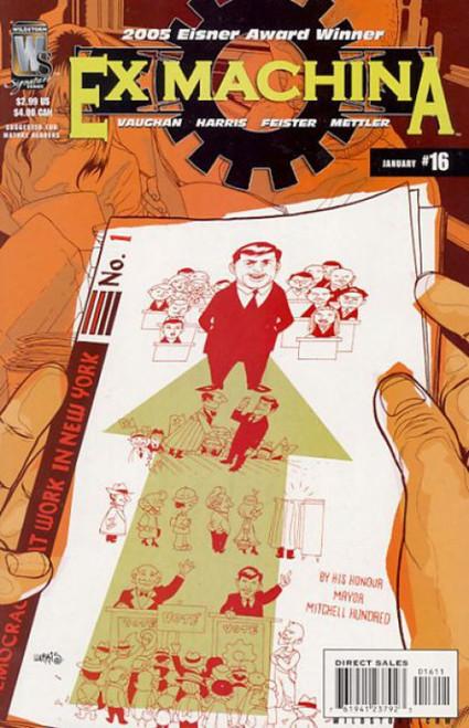 Wildstorm Ex Machina #16 Comic Book