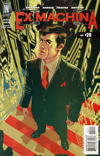 Wildstorm Ex Machina #20 Comic Book