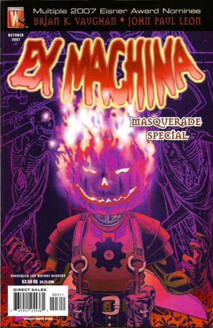 Wildstorm Ex Machina Special #3 Comic Book