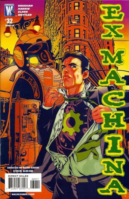 Wildstorm Ex Machina #32 Comic Book