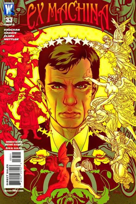 Wildstorm Ex Machina #33 Comic Book