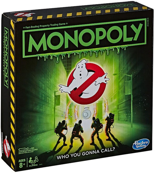 Monopoly Ghostbusters Board Game [Who You Gonna Call?]
