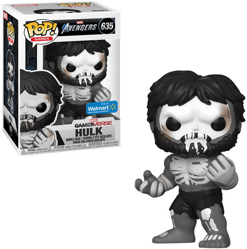 Funko Gamerverse POP! Marvel Hulk Exclusive Vinyl Figure #635 [Skeleton, Avengers]