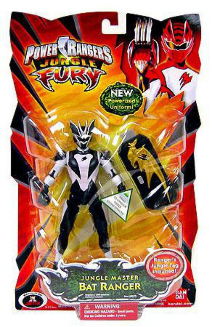 Power Rangers Jungle Fury Jungle Master Bat Ranger Action Figure [Damaged Package]