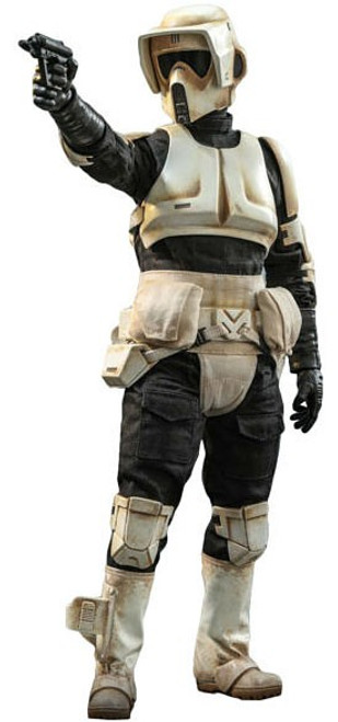 Star Wars The Mandalorian Scout Trooper Collectible Figure (Pre-Order ships June 2021)