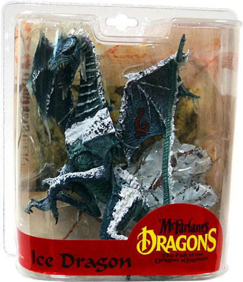 McFarlane Toys Dragons The Fall of the Dragon Kingdom Series 7 Ice Dragon Clan Action Figure [Damaged Package]