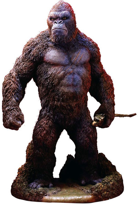 Skull Island King Kong 12.6-Inch Soft Vinyl Statue [Deluxe Version, Damaged Package]