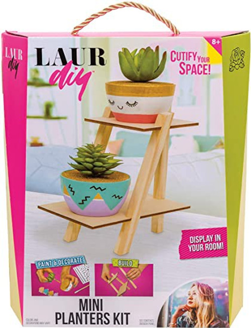 LaurDIY Mini Planters Craft Kit