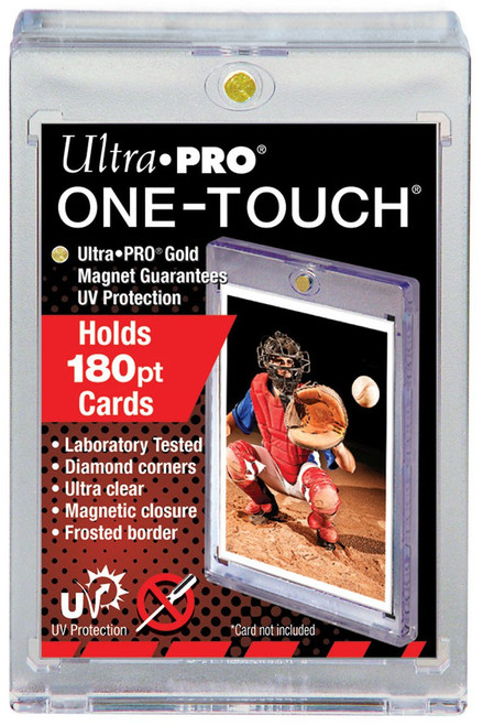 Ultra Pro Card Supplies UV Protection One-Touch [Holds 180pt Cards]