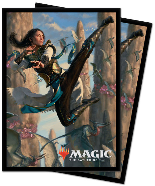 Ultra Pro MtG Ikoria Narset of the Ancient Way Standard Card Sleeves [100 Count]