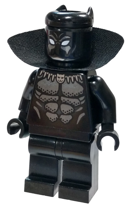 LEGO Marvel Super Heroes Avengers Black Panther, Collar Minifigure [Loose]
