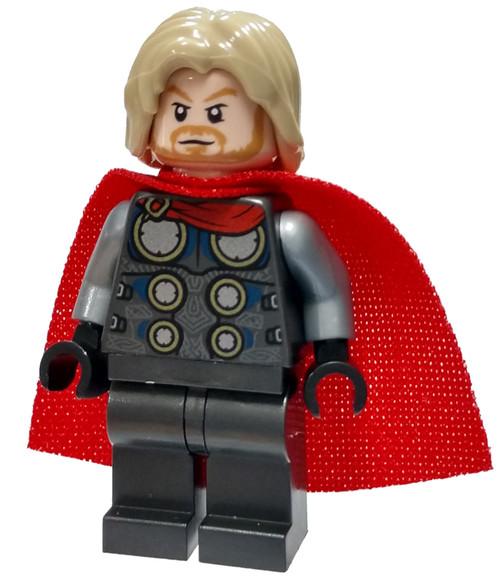LEGO Marvel Super Heroes Avengers Thor Minifigure [Spongy Cape Loose]