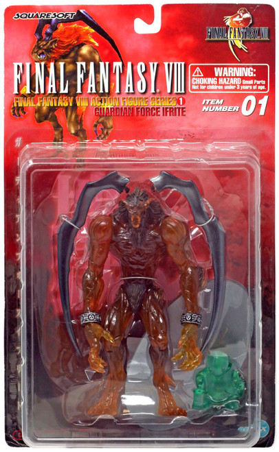 Final Fantasy VIII Guardian Force Collection Ifrite Action Figure [Clear, Red Card]