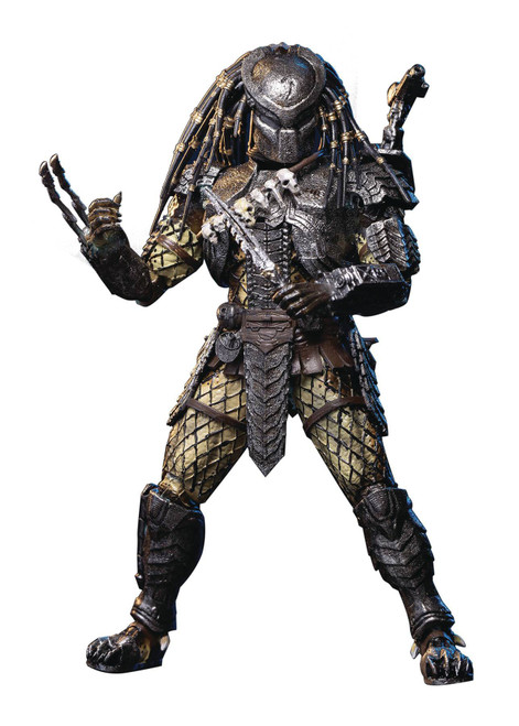 Alien vs. Predator Scar Predator Exclusive Action Figure [Masked] (Pre-Order ships April)
