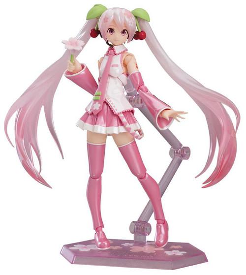 Vocaloid Figma Sakura Miku Action Figure