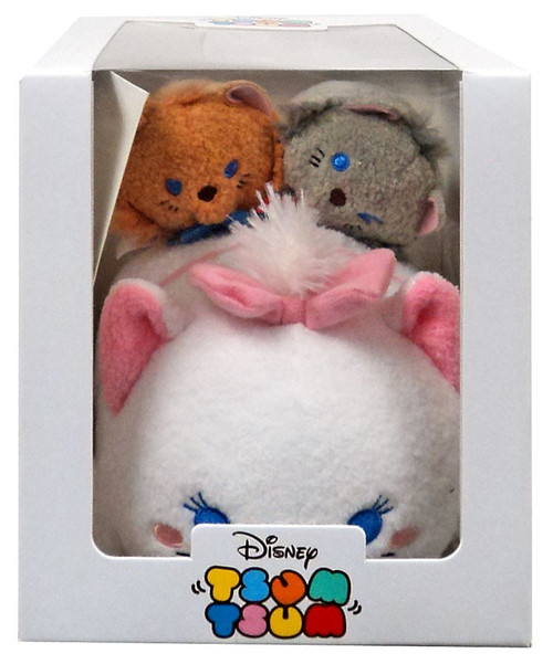 Disney Tsum Tsum Marie, Toulouse & Berlioz Exclusive Plush Set [Subscription Box, Damaged Package]