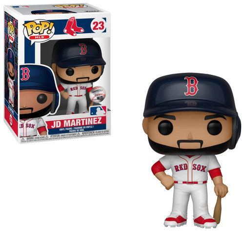 Funko MLB Boston Red Sox POP! Sports Baseball JD Martinez Vinyl Figure [Damaged Package]