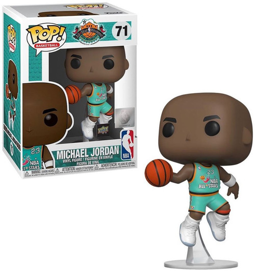 Funko NBA Chicago Bulls POP! Basketball Michael Jordan Exclusive Vinyl Figure #71 [1998 All Star Game, Damaged Package]