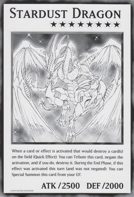 YuGiOh Duel Overload Promo Stardust Dragon [Oversized]