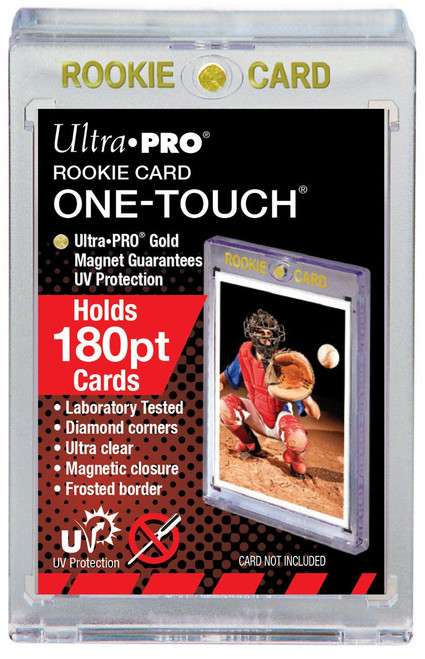 Ultra Pro Card Supplies UV One-Touch Magnetic Rookie Card Holder [180pt]