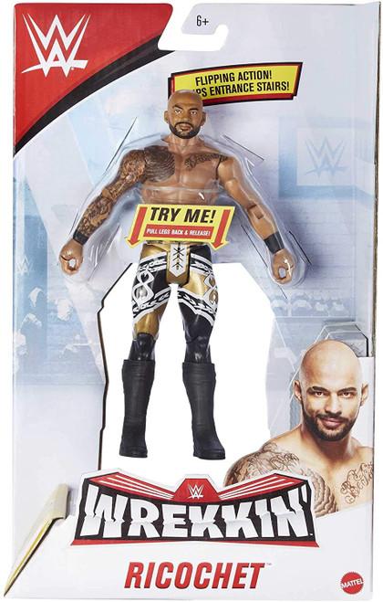 WWE Wrestling Wrekkin' Ricochet Action Figure