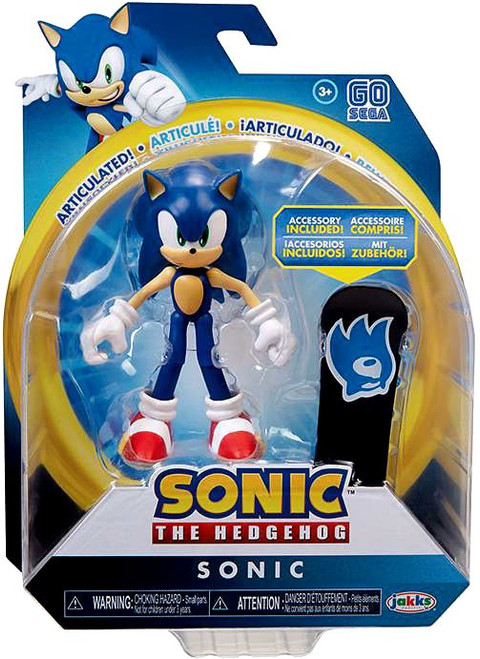 Sonic The Hedgehog Basic Wave 2 Sonic Action Figure [Snowboard]