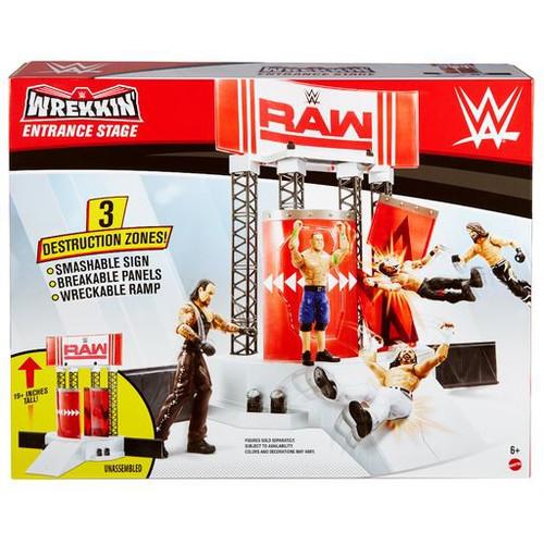 WWE Wrestling Wrekkin' Entrance Stage Playset