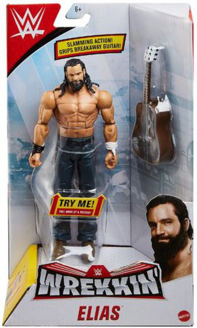 WWE Wrestling Wrekkin' Elias Action Figure