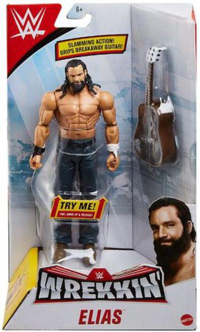 WWE Wrestling Wrekkin' Elias Action Figure