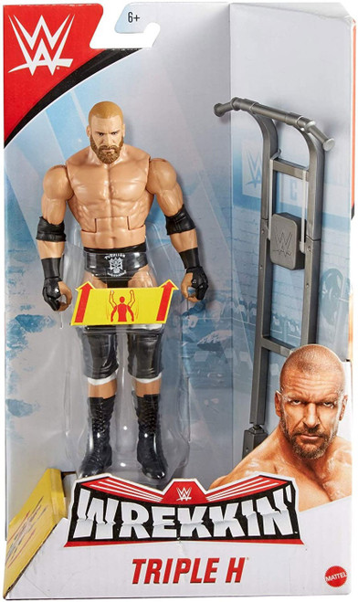 WWE Wrestling Wrekkin' Triple H Action Figure