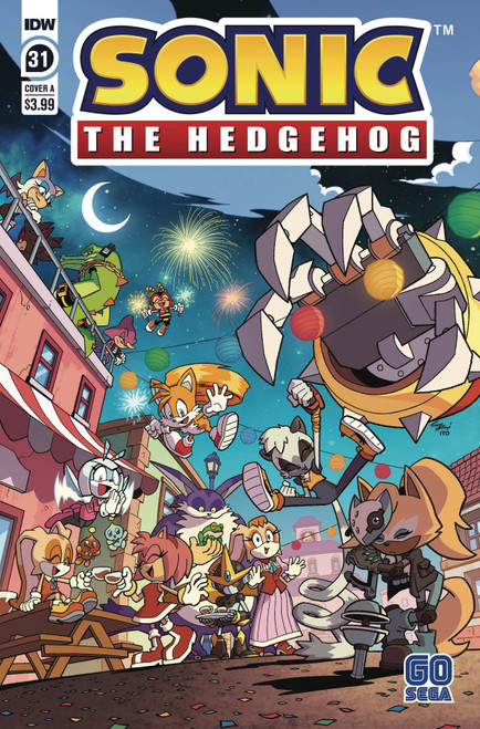 IDW Sonic The Hedgehog #31 Comic Book