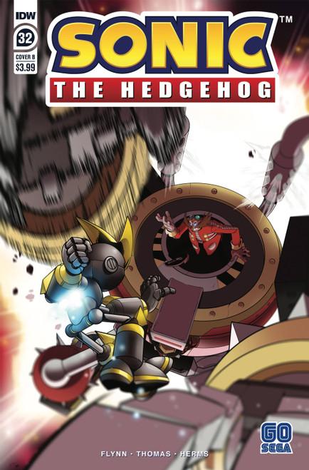 IDW Sonic The Hedgehog #32 Comic Book [Adam Bryce Thomas Variant Cover B]