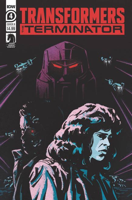 IDW Transformers Vs. Terminator #4 of 4 Comic Book