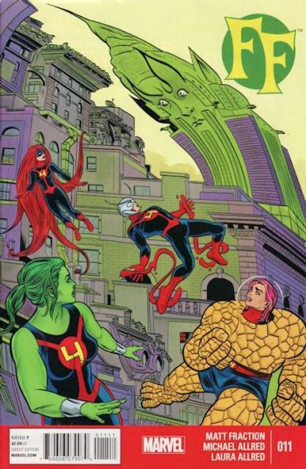 Marvel FF, Vol. 2 #11 Comic Book
