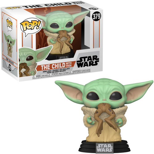 Funko The Mandalorian POP! Star Wars The Child (Baby Yoda / Grogu) Vinyl Figure #379 [with Frog]