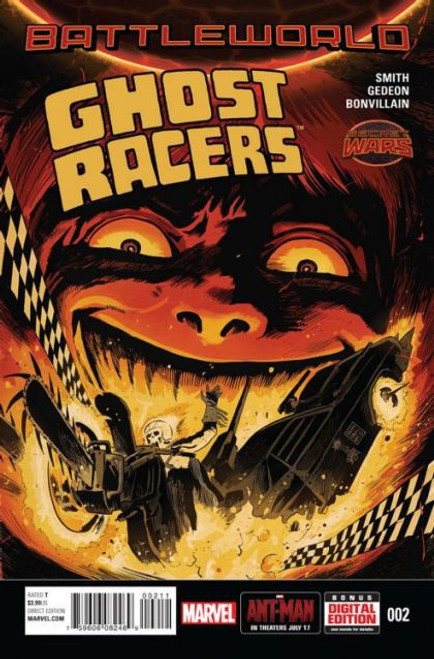 Marvel Ghost Racers #2A Comic Book