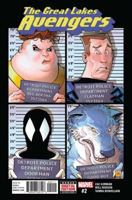 Marvel The Great Lakes Avengers #2A Comic Book
