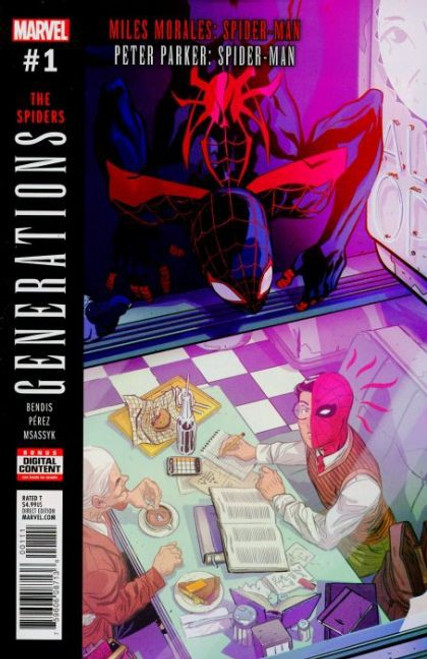 Marvel Generations: Miles Morales Spider-Man & Peter Parker Spider-Man #1A Comic Book