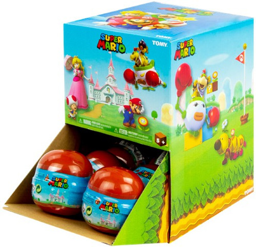 Buildable Figure Super Mario Mystery Box [12 Packs]