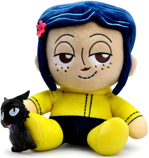 Phunny Coraline and the Cat 8-Inch Plush [Sitting]