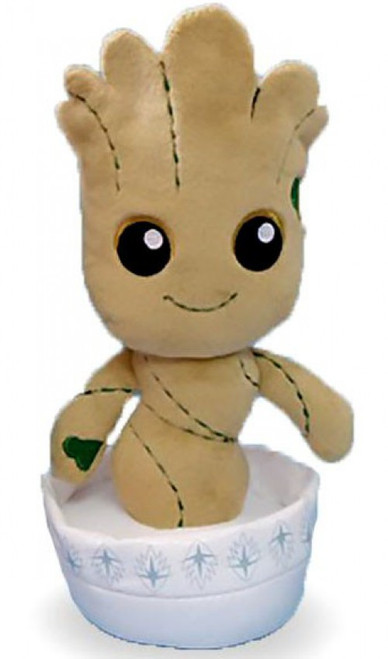 Marvel Guardians of the Galaxy Phunny Potted Groot Plush