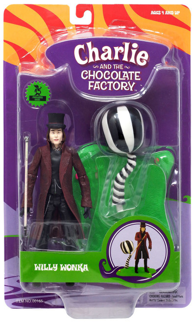 Charlie and the Chocolate Factory Willy Wonka Action Figure