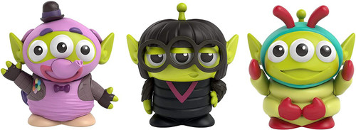 Disney / Pixar Toy Story Alien Remix Bing Bong, Edna Mode & Heimlich 3-Inch Mini Figure 3-Pack