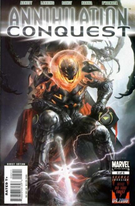 Marvel Annihilation: Conquest #5 Comic Book