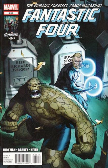 Marvel Fantastic Four, Vol. 3 #605A Comic Book
