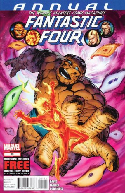 Marvel Fantastic Four Annual #33A Comic Book