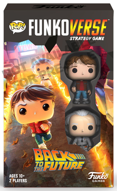 POP! Funkoverse Back to the Future 100 Strategy Board Game Expandalone