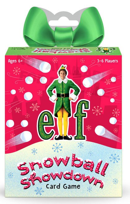 Funko Elf Signature Games Snowball Showdown! Family Card Game