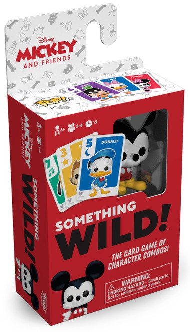Funko Disney Something Wild Signature Games Mickey & Friends Family Card Game
