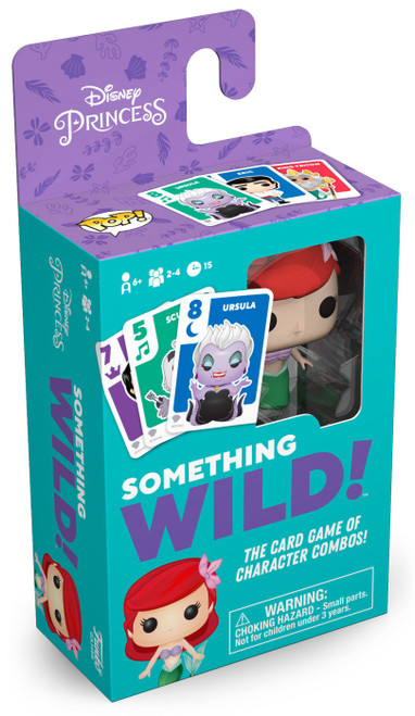 Funko Disney Princess Something Wild The Little Mermaid Family Card Game